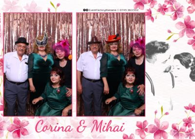 Cabina Foto Showtime - Magic Mirror -Nunta - Corina si Mihai - Restaurant Paradis Royal Ramnicu Valcea - Event Factory (88)