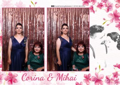 Cabina Foto Showtime - Magic Mirror -Nunta - Corina si Mihai - Restaurant Paradis Royal Ramnicu Valcea - Event Factory (89)