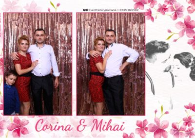 Cabina Foto Showtime - Magic Mirror -Nunta - Corina si Mihai - Restaurant Paradis Royal Ramnicu Valcea - Event Factory (9)