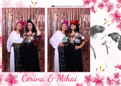 Cabina Foto Showtime - Magic Mirror -Nunta - Corina si Mihai - Restaurant Paradis Royal Ramnicu Valcea - Event Factory (91)