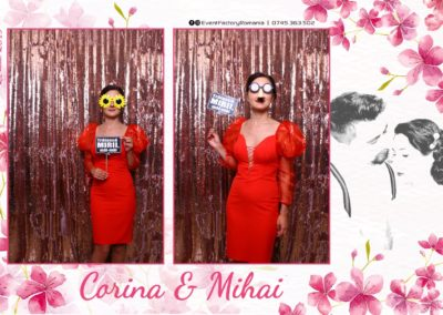 Cabina Foto Showtime - Magic Mirror -Nunta - Corina si Mihai - Restaurant Paradis Royal Ramnicu Valcea - Event Factory (92)