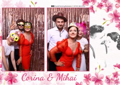 Cabina Foto Showtime - Magic Mirror -Nunta - Corina si Mihai - Restaurant Paradis Royal Ramnicu Valcea - Event Factory (95)