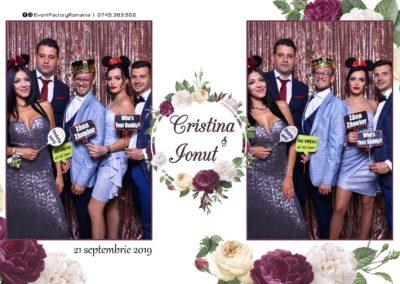 Cabina Foto Showtime - Magic Mirror - Nunta - Cristina & Ionut - Hotel Ramada Ramnicu Valcea - Event Factory (3)