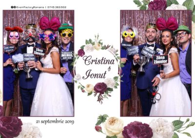 Cabina Foto Showtime - Magic Mirror - Nunta - Cristina & Ionut - Hotel Ramada Ramnicu Valcea - Event Factory (34)