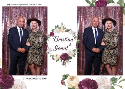 Cabina Foto Showtime - Magic Mirror - Nunta - Cristina & Ionut - Hotel Ramada Ramnicu Valcea - Event Factory (54)