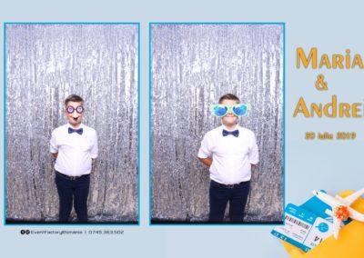 Cabina Foto Showtime - Magic Mirror -Nunta - Maria si Andrei - Restaurant Premier Ballroom Curtea de Arges - Event Factory (1)