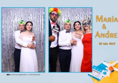 Cabina Foto Showtime - Magic Mirror -Nunta - Maria si Andrei - Restaurant Premier Ballroom Curtea de Arges - Event Factory (109)