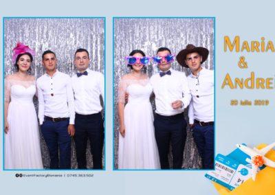 Cabina Foto Showtime - Magic Mirror -Nunta - Maria si Andrei - Restaurant Premier Ballroom Curtea de Arges - Event Factory (110)