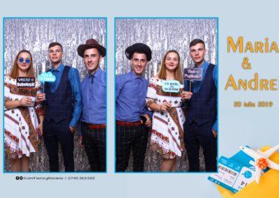 Cabina Foto Showtime - Magic Mirror -Nunta - Maria si Andrei - Restaurant Premier Ballroom Curtea de Arges - Event Factory (12)