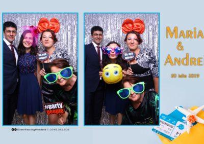 Cabina Foto Showtime - Magic Mirror -Nunta - Maria si Andrei - Restaurant Premier Ballroom Curtea de Arges - Event Factory (14)