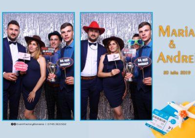 Cabina Foto Showtime - Magic Mirror -Nunta - Maria si Andrei - Restaurant Premier Ballroom Curtea de Arges - Event Factory (18)