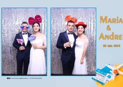 Cabina Foto Showtime - Magic Mirror -Nunta - Maria si Andrei - Restaurant Premier Ballroom Curtea de Arges - Event Factory (2)