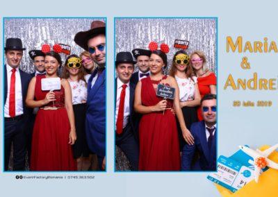 Cabina Foto Showtime - Magic Mirror -Nunta - Maria si Andrei - Restaurant Premier Ballroom Curtea de Arges - Event Factory (52)