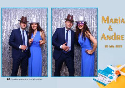 Cabina Foto Showtime - Magic Mirror -Nunta - Maria si Andrei - Restaurant Premier Ballroom Curtea de Arges - Event Factory (75)