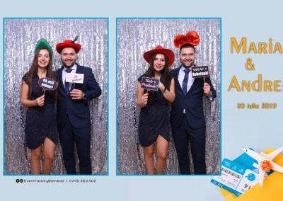 Cabina Foto Showtime - Magic Mirror -Nunta - Maria si Andrei - Restaurant Premier Ballroom Curtea de Arges - Event Factory (83)