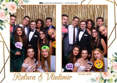 Cabina Foto Showtime - Magic Mirror -Nunta - Raluca si Vladimir - Restaurant Ok Ballroom Ramnicu Valcea - Event Factory (26)
